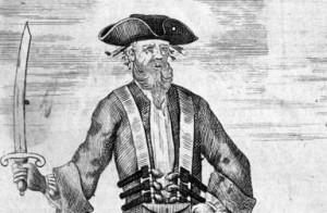 Edward Teach, Blackbeard (c. 1736 engraving)